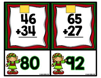 December Math Tubs: SECOND GRADE