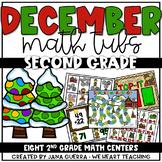 December Math Centers: SECOND GRADE