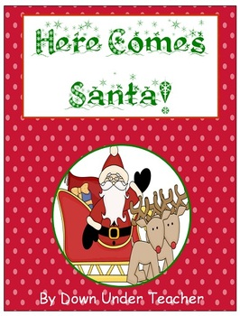 Here Comes Santa Fry's Sight Word Phrases board game