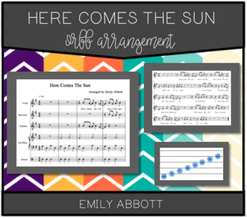 Here Comes The Sun Orff Arrangement