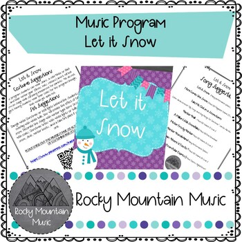 Here Comes the Snow Music Program