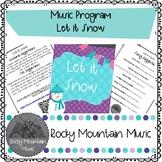 Let it Snow Music Program