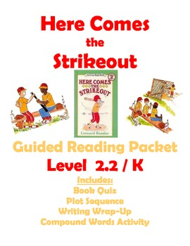 Here Comes the Strikeout: Guided Reading Packet