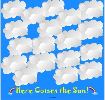 Smartboard Reinforcement Game FREE: Here Comes the Sun
