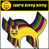 Here Kitty Kitty Cat Clip Art