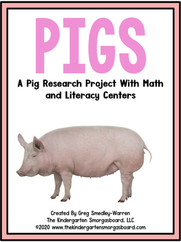 Here Piggy Piggy!  A Common Core Research Project!