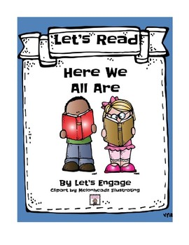 Here We All Are: Let's Read! (Reading Response Packet GR N)