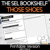 Those Shoes Activities and Lesson Plan   Social Emotional