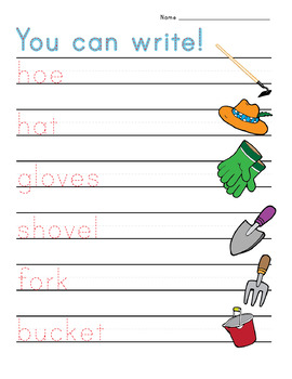 Here We Grow: Lowercase Letters