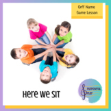 Here We Sit - Orff