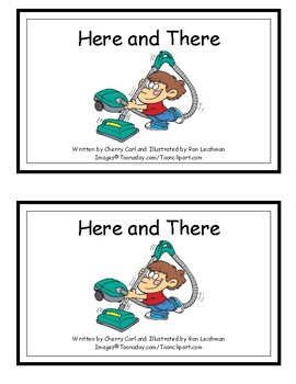 Here and There: Phonics First, Grade 1 Sight Word Reader