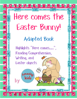 Here comes the Easter Bunny – Adapted Book