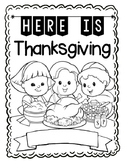Here is Thanksgiving Poem and Craft Book