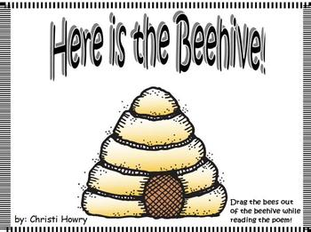 Here is the Beehive! - Promethean Board Activity