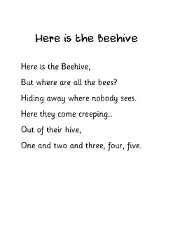 Here is the Beehive, Where are the Bees?