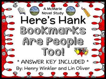 Here's Hank: Bookmarks Are People Too! (Winkler) Novel Stu