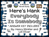 Here's Hank: Everybody Is Somebody (Henry Winkler) Novel Study  (27 pages)