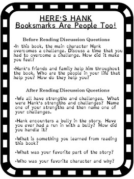 Here's Hank People Are Bookmarks Too!