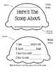 Here's The Scoop ~ A Cute Flip Book