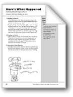 Here's What Happened (Book Report Form)