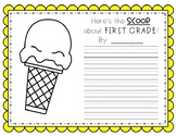 Here's the Scoop in First Grade!