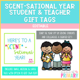 Editable Scent-Sational Year Gift Tags