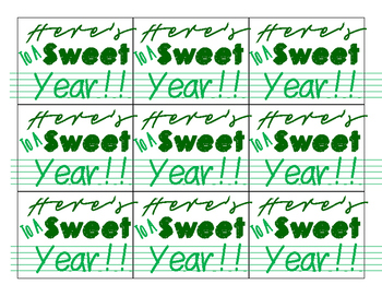 Here's to a sweet year