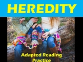 Heredity Adapted Reading Practice