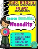 Heredity Genetics Lesson Bundle: Biology Interactive Notebook
