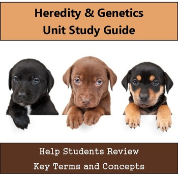Heredity & Genetics Unit Study Guide