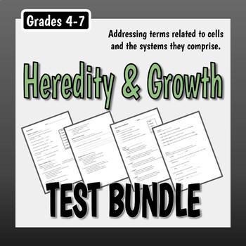 Heredity & Growth Test Bundle