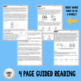 Heredity - Guided Reading + Worksheets