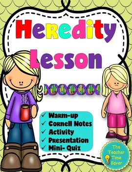 Heredity Lesson (presentation, notes, and activity)- Traits/Phenotype/Genotype