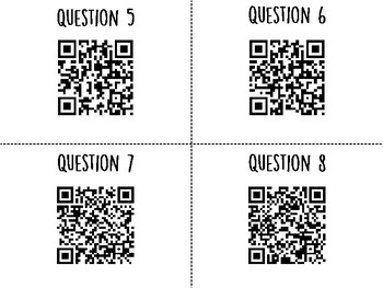 Heredity QR Code Hunt (Content Review or Notebook Quiz)