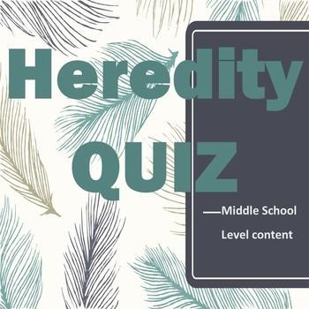 Heredity Quiz