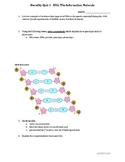 Heredity Quiz: DNA the Information Molecule