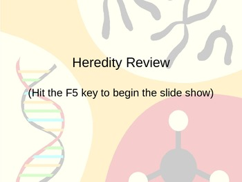 Heredity Review PPT Flashcards