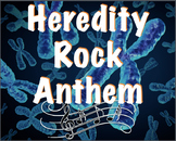 Heredity Rock Anthem audio: a song about genetics and heredity