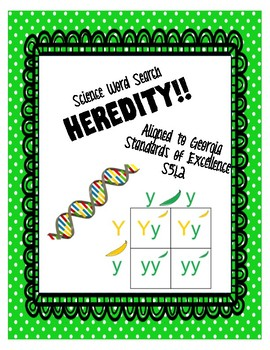 Heredity Word Search