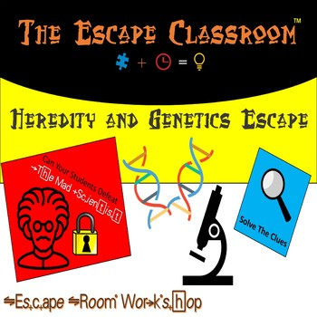 Heredity and Genetics Escape Room (Middle & High School) | The Escape Classroom