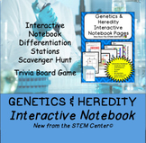 Heredity and Genetics Interactive Notebook - Distance Lear