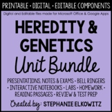 Heredity and Genetics Unit Bundle