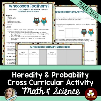 Heredity and Probability Cross Curricular Activity