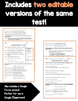 Heredity and Traits Study Guide and Test