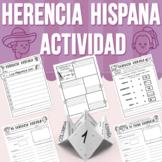 Herencia Hispana - Actividad