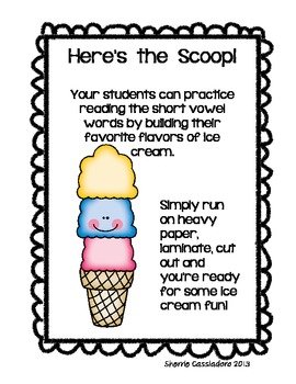 Here's the Scoop!!