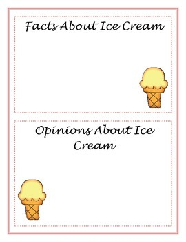 Here's the Scoop! Math and ELA Activites with an Ice Cream Theme