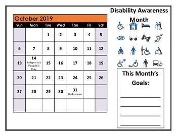 Heritage Awareness Calendar
