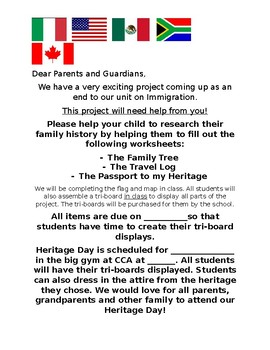 Heritage Day Project