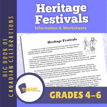 Heritage Festivals Lesson Plan Grades 4-6
